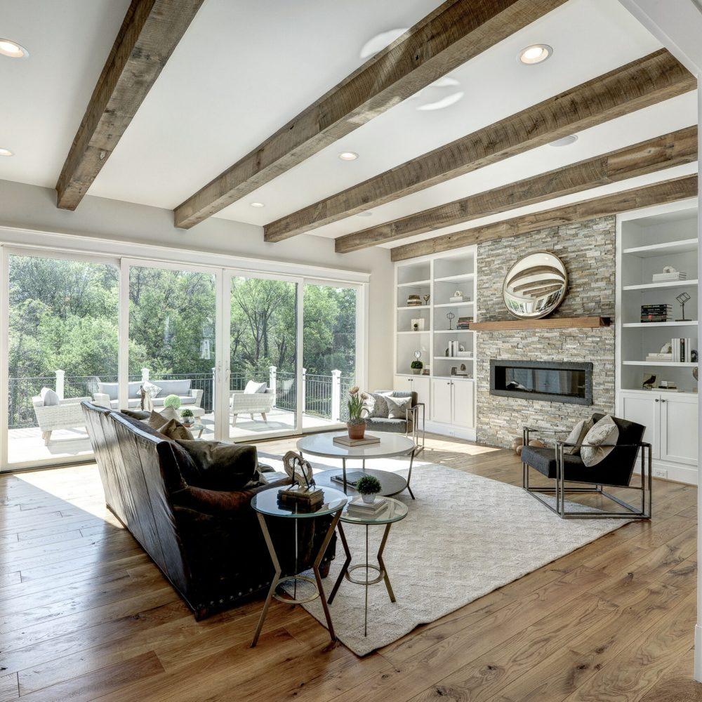 Modern Farm House Living Room