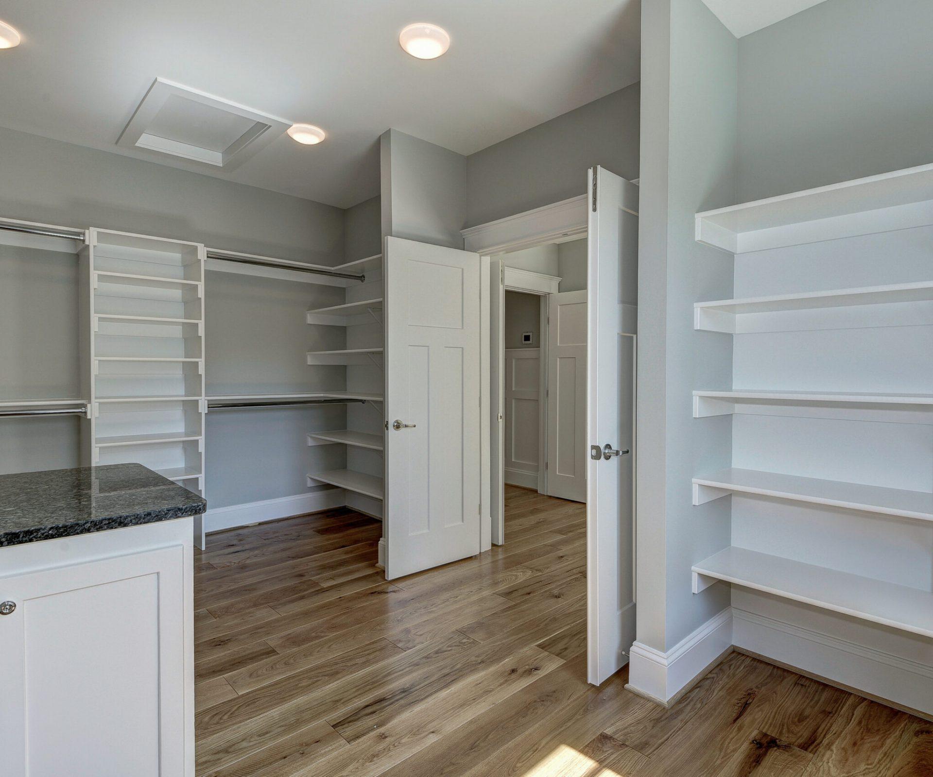Modern Farm House Master Closet
